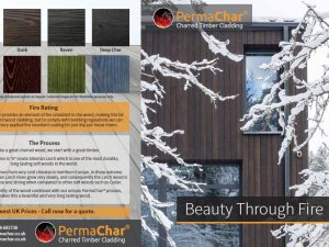 PermaChar Brochure for charred timber cladding