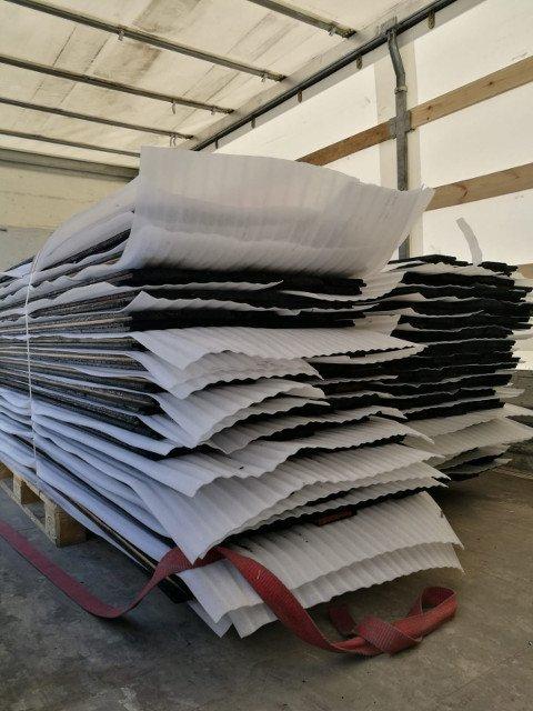 PermaChar® Deep Char timber cladding shipment