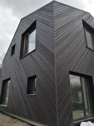PermaChar® Dusk timber cladding