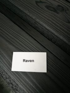 Charred Timber Cladding Raven