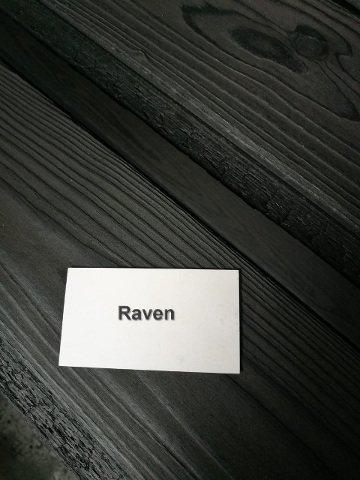 Charred Timber Cladding Raven