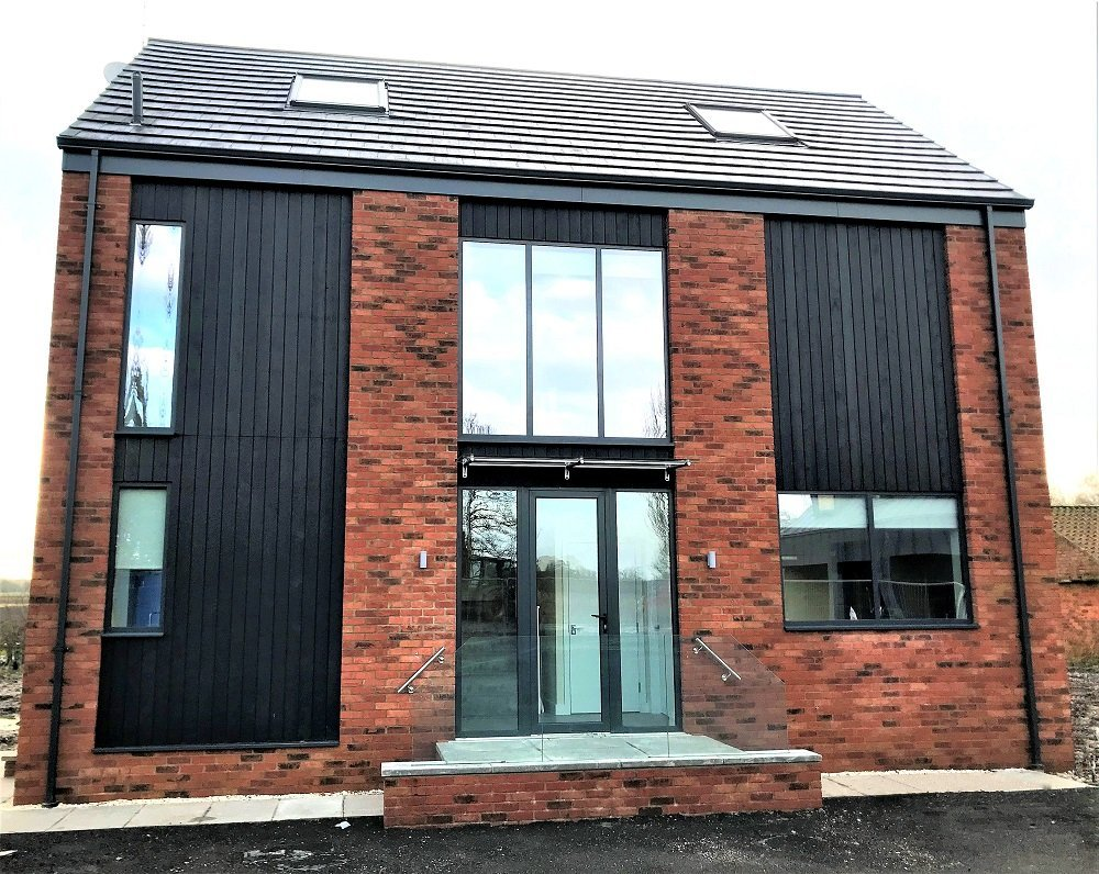 Permachar 'Deep Char' Charred Timber Cladding
