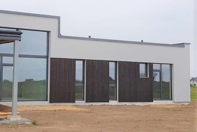 PermaChar Charred Timber Cladding on building