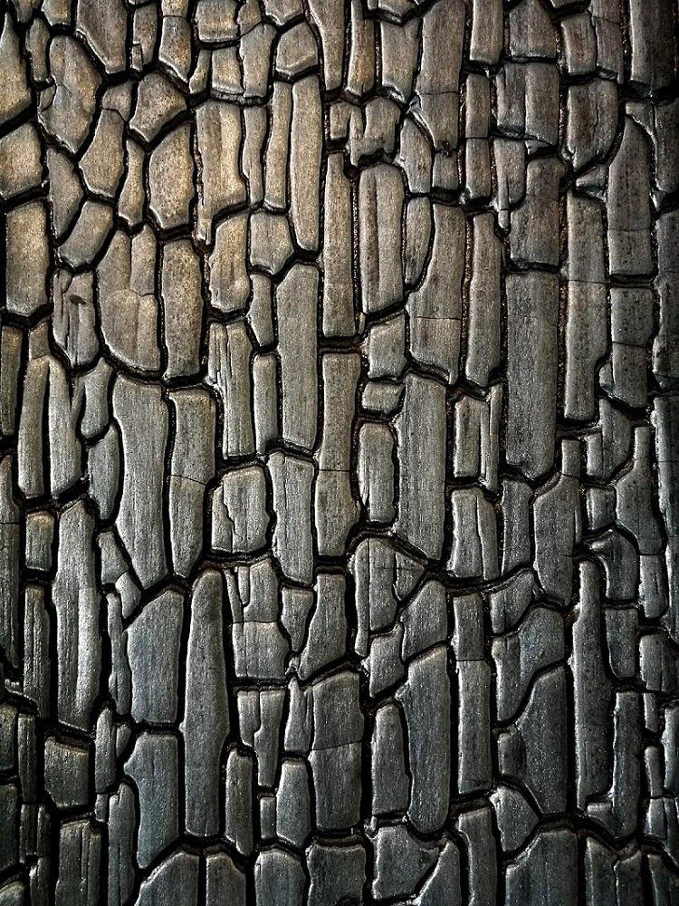Charred Timber Cladding Deep Char
