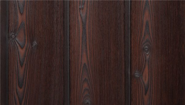 Crushed Berry Charred Timber Cladding from PermaChar