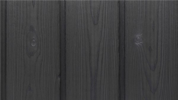 Smoke Grey Charred Timber Cladding from PermaChar