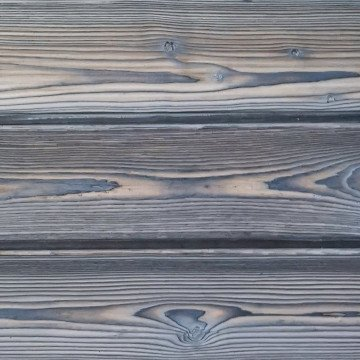 Permachar Ice Grey Charred Timber Cladding