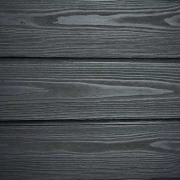 Permachar Smoke Grey Charred Timber Cladding