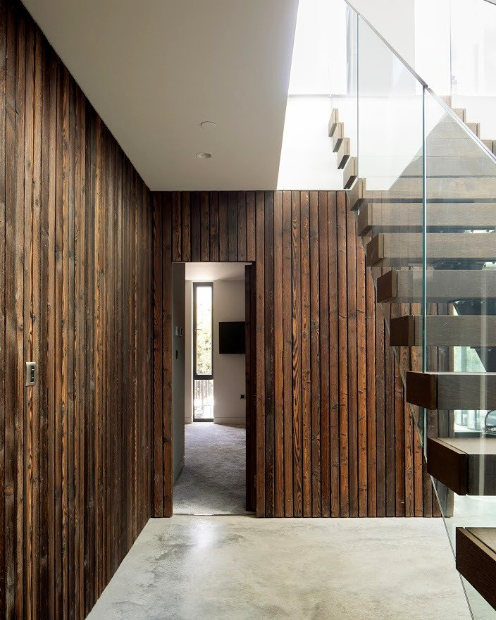 Charred Timber Cladding - PermaChar Driftwood