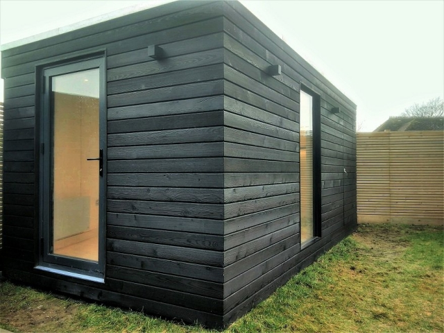 Permachar Charred Timber Cladding