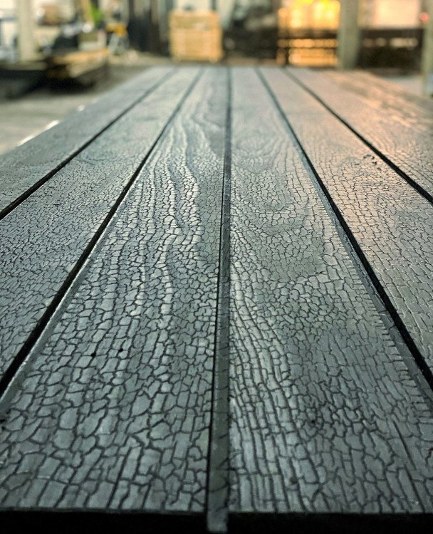 Accoya Charred Timber