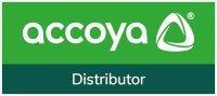 Accoya Affiliate mark distributor logo